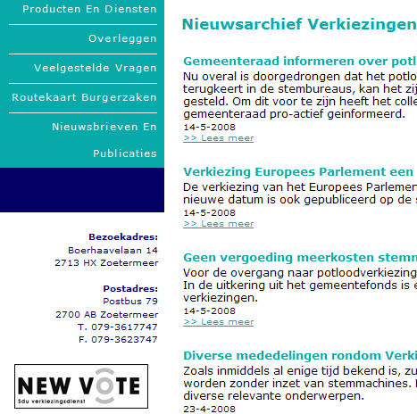 newvote